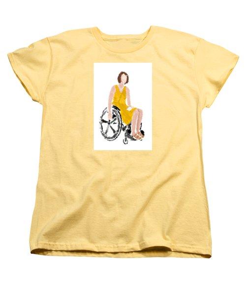 Women's T-Shirt (Standard Cut) featuring the digital art Kelly by Nancy Levan