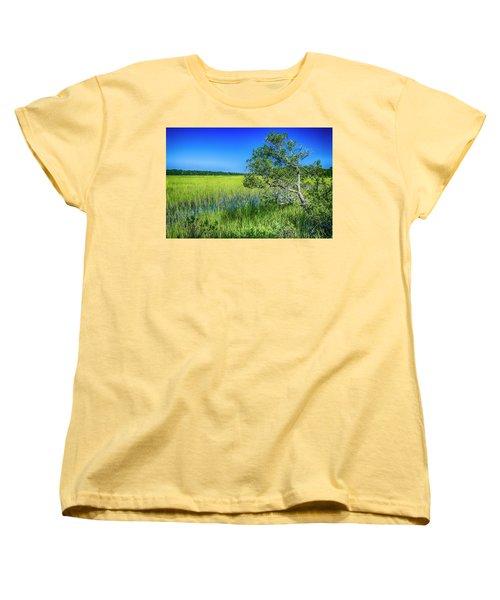 Kent Mitchell Nature Trail, Bald Head Island Women's T-Shirt (Standard Cut)