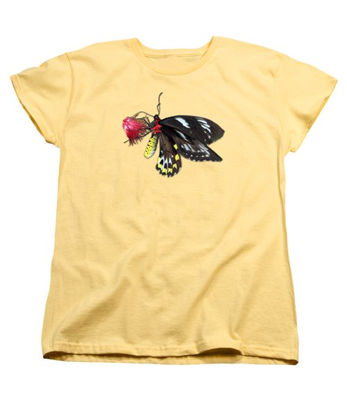 Key West Butterfly 12 Women's T-Shirt (Standard Cut) by Bob Slitzan