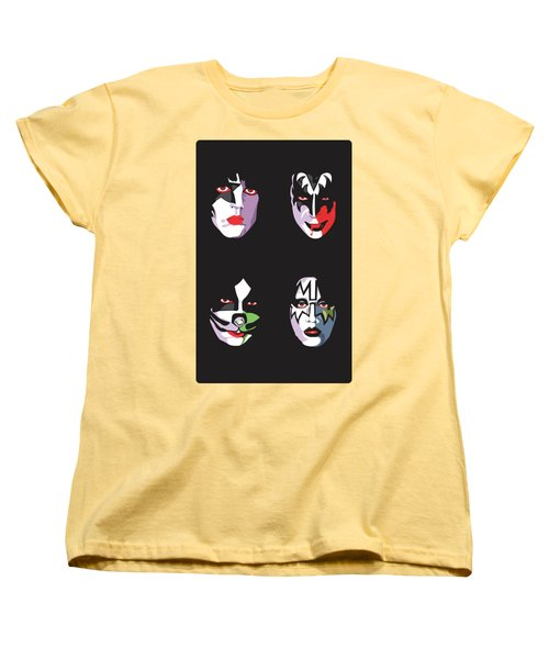 Kiss Women's T-Shirt (Standard Cut) by Troy Arthur Graphics
