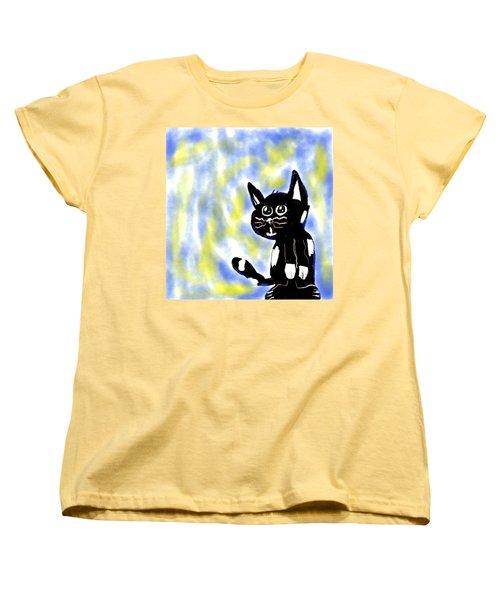 Kitty Kitty Women's T-Shirt (Standard Cut) by Paulo Guimaraes