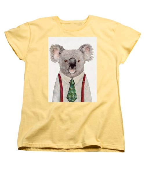 Koala Women's T-Shirt (Standard Cut) by Animal Crew