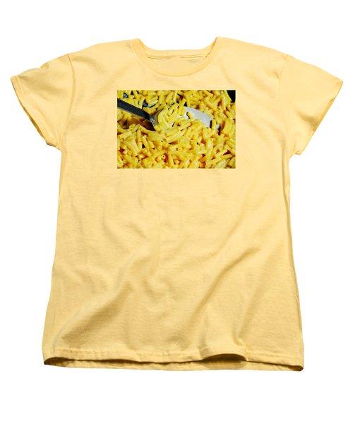 Kraft Mac'n Cheese Women's T-Shirt (Standard Cut) by Diana Angstadt