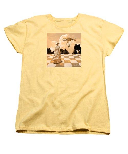 Lady Women's T-Shirt (Standard Cut) by Alexa Szlavics
