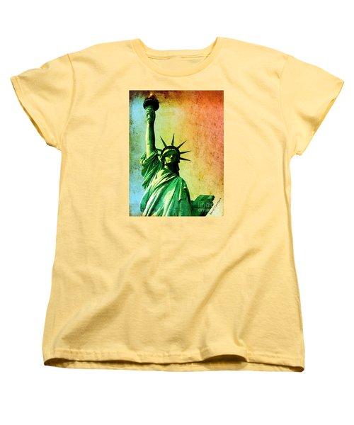 Lady Liberty Women's T-Shirt (Standard Cut)