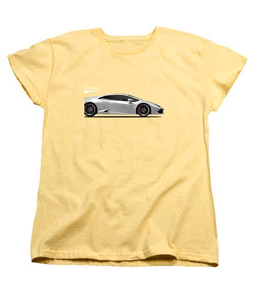 Lamborghini Huracan Women's T-Shirt (Standard Cut) by Mark Rogan
