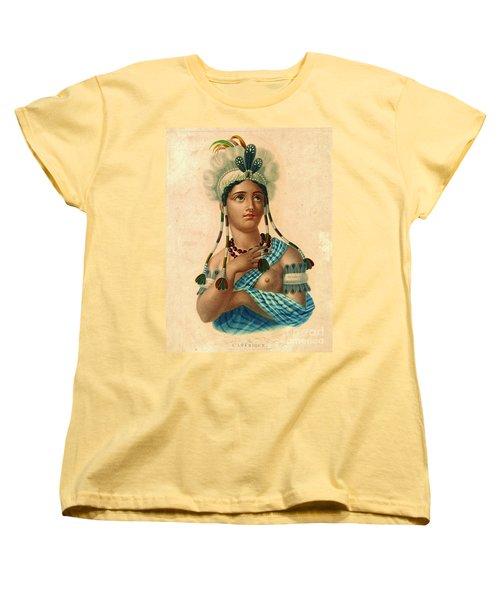 L'amerique 1820 Women's T-Shirt (Standard Cut) by Padre Art