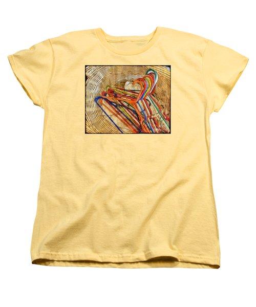Laundry Basket Women's T-Shirt (Standard Cut) by Judi Bagwell