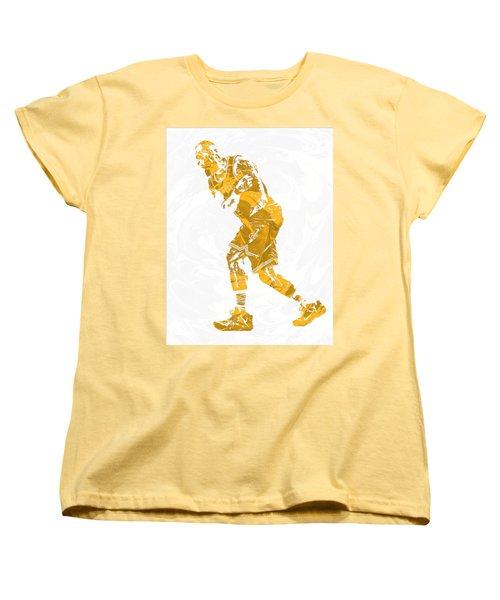 Lebron James Cleveland Cavaliers Pixel Art 13 Women's T-Shirt (Standard Cut)