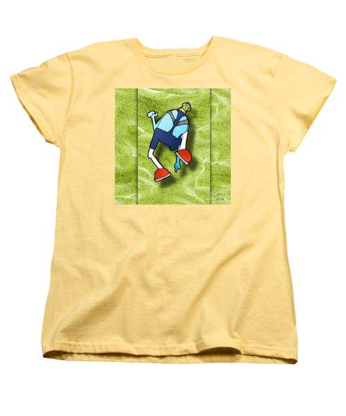 Women's T-Shirt (Standard Cut) featuring the digital art Lederhosen by Uncle J's Monsters