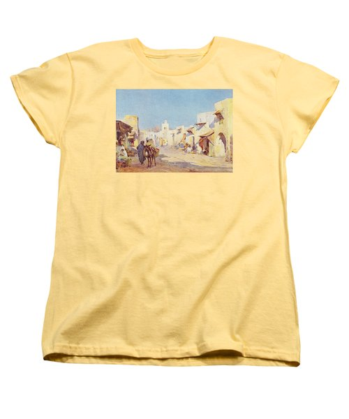 Women's T-Shirt (Standard Cut) featuring the photograph Leopold Carl Muller 1887 by Munir Alawi
