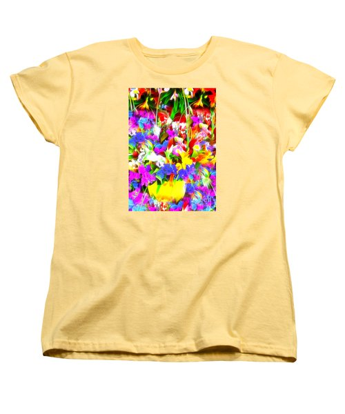 Women's T-Shirt (Standard Cut) featuring the photograph Les Jolies Fleurs by Jack Torcello
