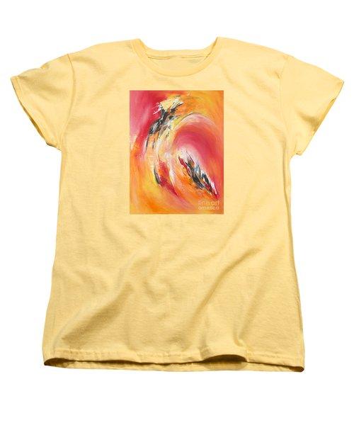 Let It Happen Women's T-Shirt (Standard Cut) by Glory Wood