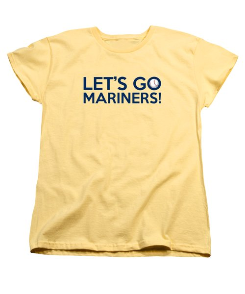 Let's Go Mariners Women's T-Shirt (Standard Cut) by Florian Rodarte