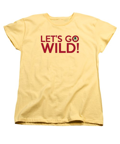 Let's Go Wild Women's T-Shirt (Standard Cut) by Florian Rodarte