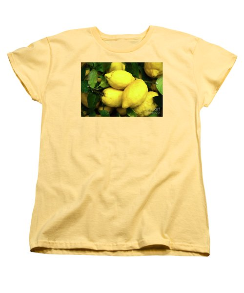 Women's T-Shirt (Standard Cut) featuring the photograph Life Gives You Lemons by Sandy Molinaro