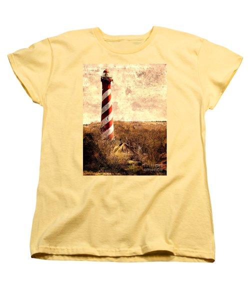 Lighthouse Westerlichttoren Women's T-Shirt (Standard Cut) by Daniel Heine