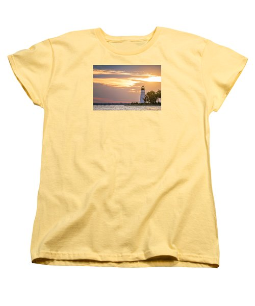 Women's T-Shirt (Standard Cut) featuring the photograph Lighting The Way by Andy Crawford
