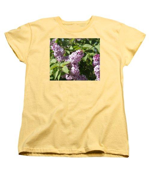 Women's T-Shirt (Standard Cut) featuring the photograph Lilacs 5544 by Antonio Romero