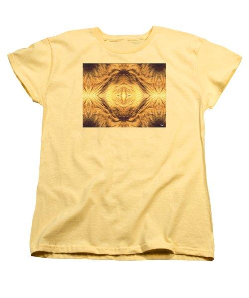 Lion's Eye Women's T-Shirt (Standard Cut) by Maria Watt
