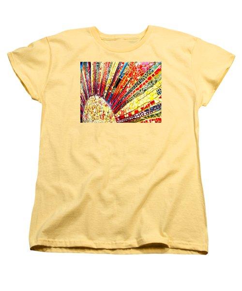 Living Edgewater Mosaic Women's T-Shirt (Standard Cut) by Kyle Hanson