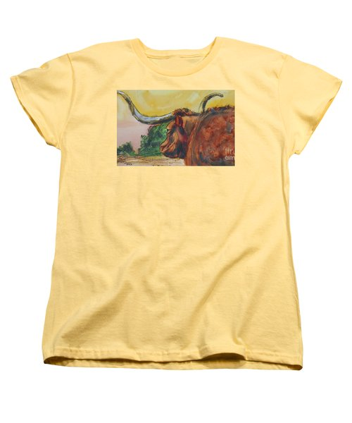 Lonesome Longhorn Women's T-Shirt (Standard Cut)