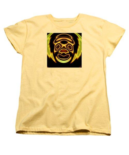Women's T-Shirt (Standard Cut) featuring the digital art Looming Sorrows by Mario Carini