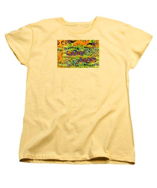 Love Contest Women's T-Shirt (Standard Cut) by Ron Bissett