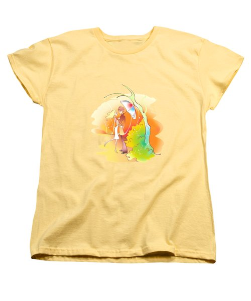 Love Shower T-shirt Women's T-Shirt (Standard Cut) by Herb Strobino