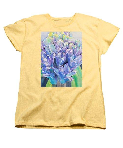 Lovely Lupine Women's T-Shirt (Standard Cut) by Ruth Kamenev