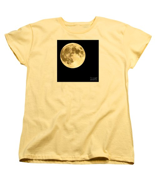 Lunar Close Up Women's T-Shirt (Standard Cut)