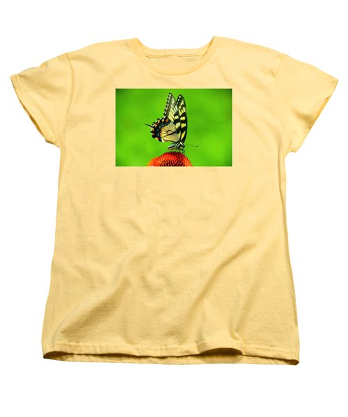 Women's T-Shirt (Standard Cut) featuring the photograph Lunchtime by Byron Varvarigos