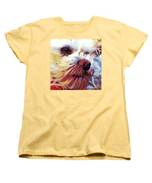Lupi Women's T-Shirt (Standard Cut) by Judy Morris