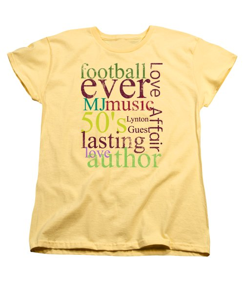 Lynton Guest Women's T-Shirt (Standard Cut) by D Francis