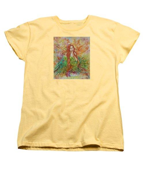 Magical Song Of Autumn Women's T-Shirt (Standard Cut) by Rita Fetisov