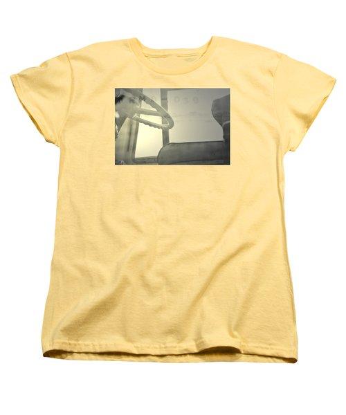 Women's T-Shirt (Standard Cut) featuring the photograph Maintenance  by Mark Ross