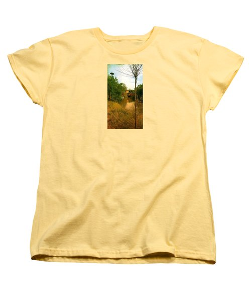 Women's T-Shirt (Standard Cut) featuring the photograph Malamocco Canal No2 by Anne Kotan