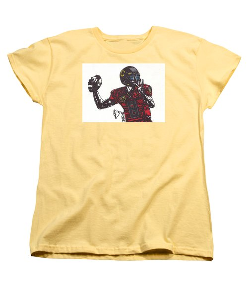 Marcus Mariota 1 Women's T-Shirt (Standard Cut) by Jeremiah Colley