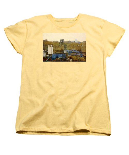 Maynard Steel Women's T-Shirt (Standard Cut) by David Blank
