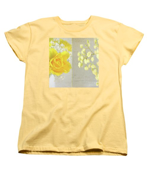 Women's T-Shirt (Standard Cut) featuring the photograph Mellow Yellow by Lyn Randle