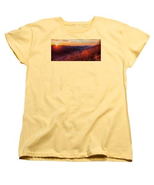 Women's T-Shirt (Standard Cut) featuring the photograph Melody Of Autumn by Karen Wiles