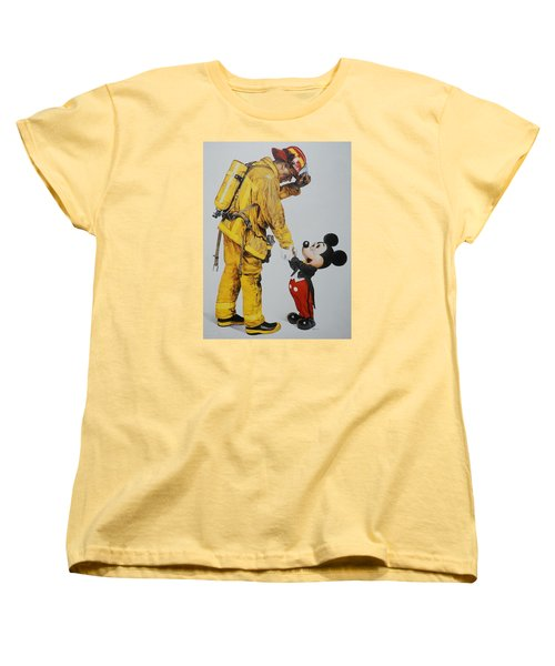 Mickey And The Bravest Women's T-Shirt (Standard Cut)