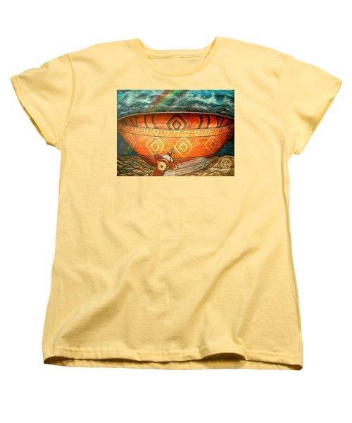 Miracles Women's T-Shirt (Standard Cut) by Kim Jones