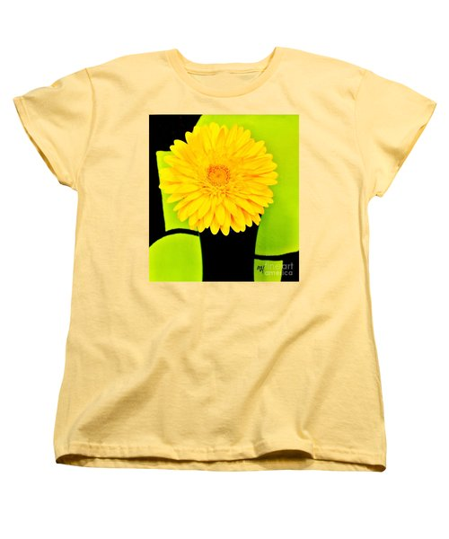 Women's T-Shirt (Standard Cut) featuring the photograph Modern Gerber by Marsha Heiken