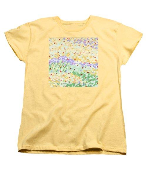 Modern Landscape Painting 3 Women's T-Shirt (Standard Cut) by Gordon Punt