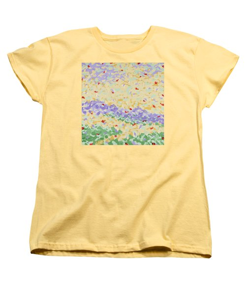 Modern Landscape Painting 4 Women's T-Shirt (Standard Cut) by Gordon Punt