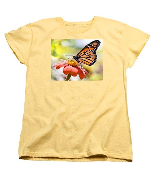 Monarch Butterfly Women's T-Shirt (Standard Cut) by Chris Lord