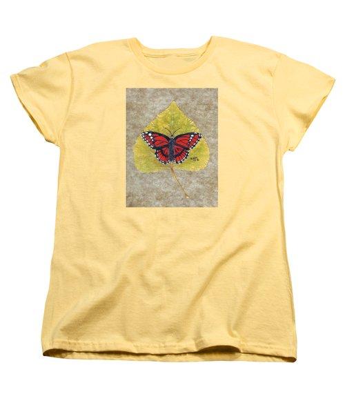 Monarch Butterfly Women's T-Shirt (Standard Cut) by Ralph Root