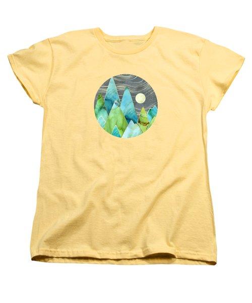 Moonlit Mountains Women's T-Shirt (Standard Fit)