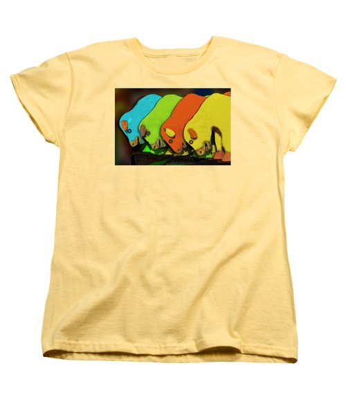 Women's T-Shirt (Standard Cut) featuring the photograph Mooving On by Paul Wear